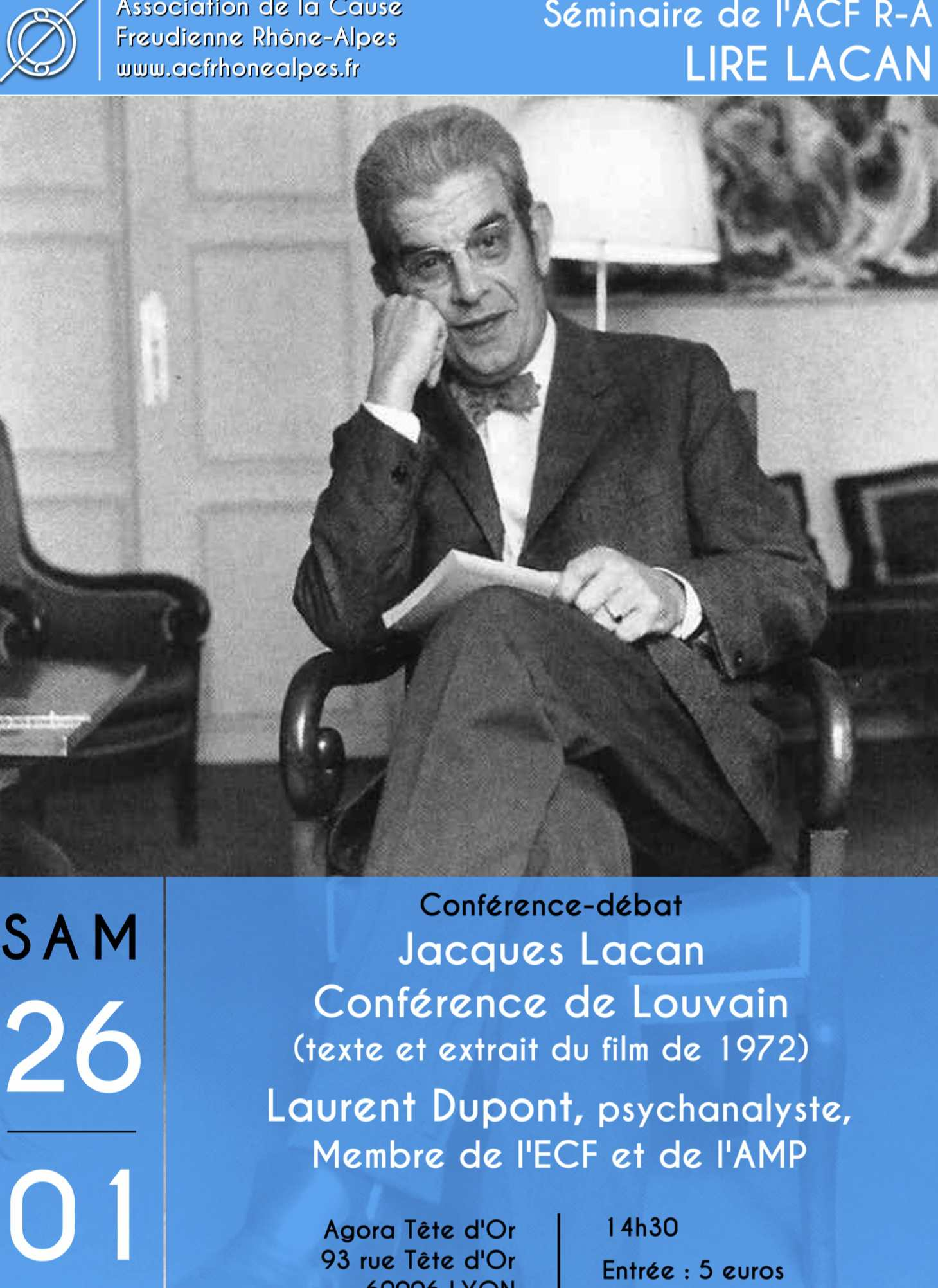 Conférence -débat Jacques Lacan