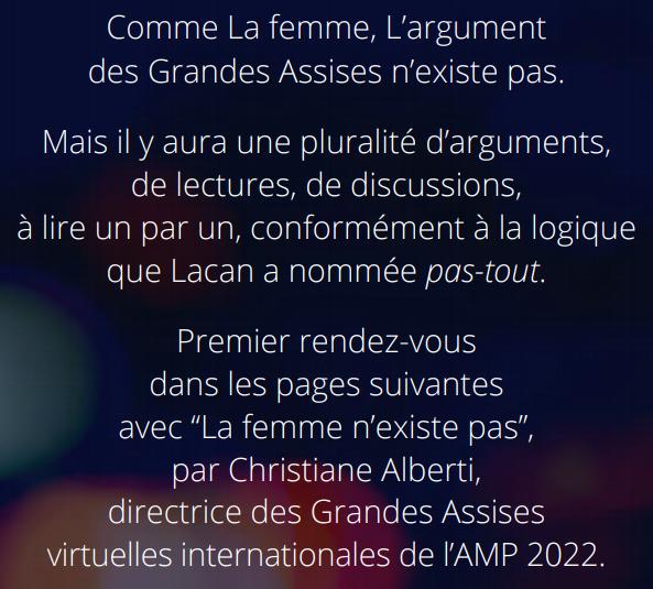 Découvrez le texte de Christiane ALBERTIdans son intégralité en cliquant sur l'affiche ci-dessus et écoutez-lales présenter.