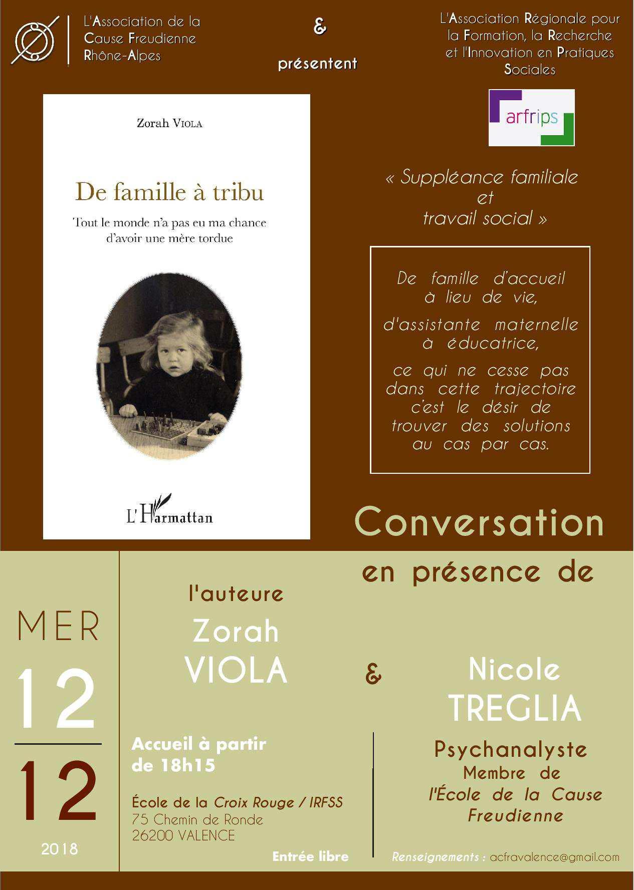 Affiche Zorah Viola  Mercredi 12 décembre à Valence