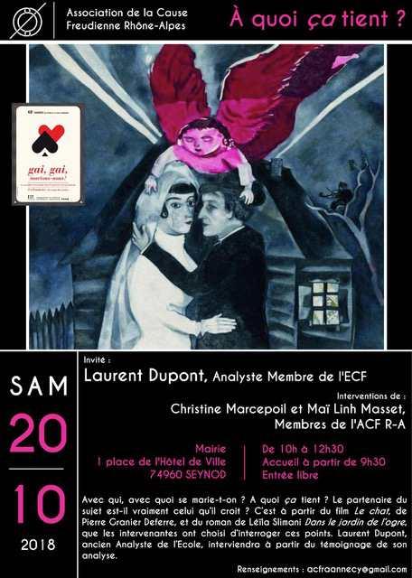 Affiche Matinée du 20 octobre à Seynod