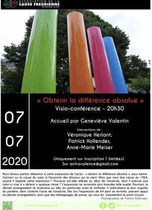 Écho de la conférence «Obtenir la différence absolue»