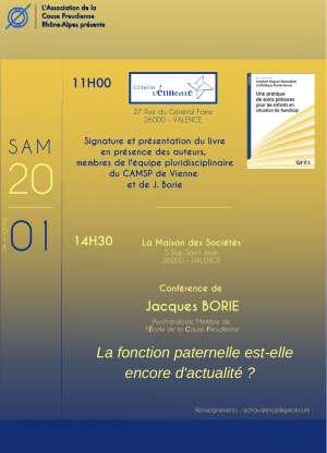 Conférence Jacques Borie - Fonction paternelle