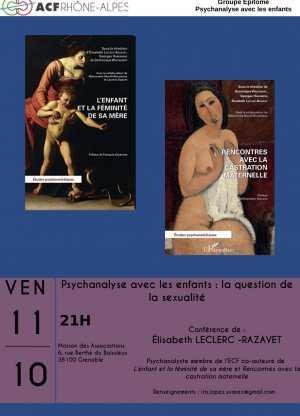 Psychanalyse avec les enfants : La question de la sexualité