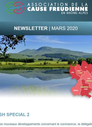 NEWSLETTER Mars 2020 flash spécial 2