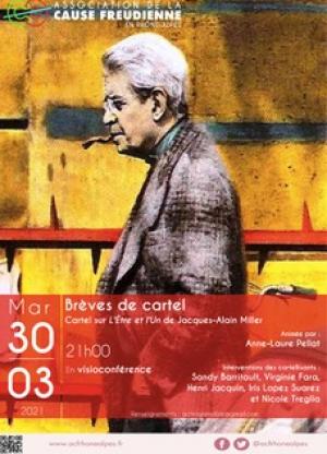 Brèves de cartel sur l'Etre et l'Un de Jacques-Alain Miller