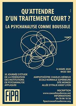 Journée FIPA -La psychanalyse comme boussole => ANNULÉ