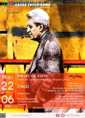 Soirée brèves de cartel sur l'acte analytique de Jacques Lacan