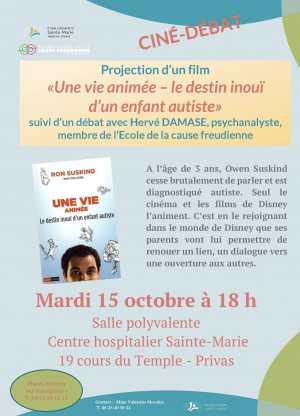 Projection d'un film