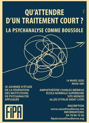 FIPA : QU'ATTENDRE D'UN TRAITEMENT COURT ?  LA PSYCHANALYSE COMME BOUSSOLE