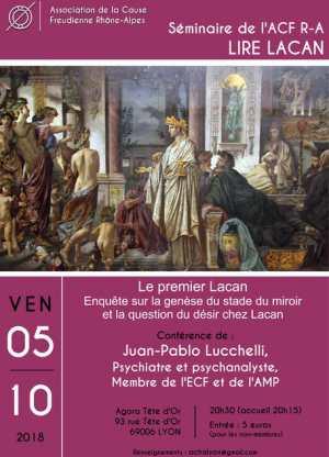 """Les """"lettres à kojève"""" par Juan Pablo Lucchelli"""