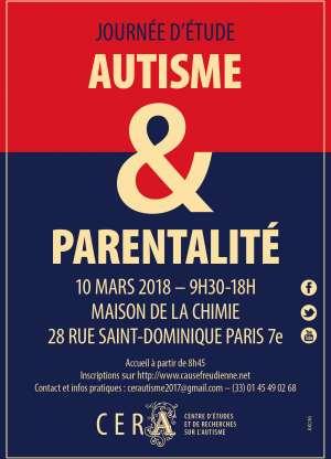 Journée d'étude du CERA - Autisme et Parentalité