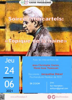 """Echo de la soirée """"Topique de la haine"""""""